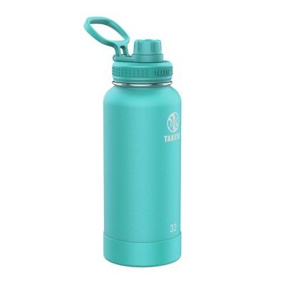 Takeya 32oz Actives Pickleball Insulated Stainless Steel Water Bottle with Spout Lid