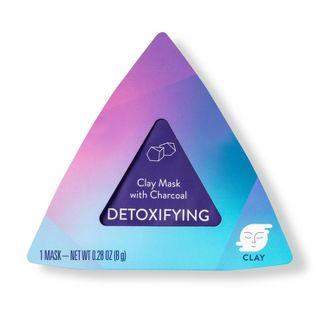 Detoxifying Charcoal Clay Pod Mask - 0.28oz