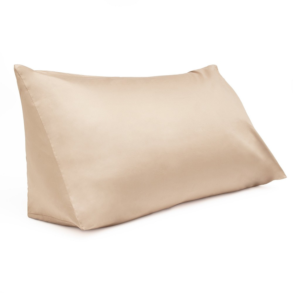 Image of Reading Wedge Pillow Cover Tan - Downlite