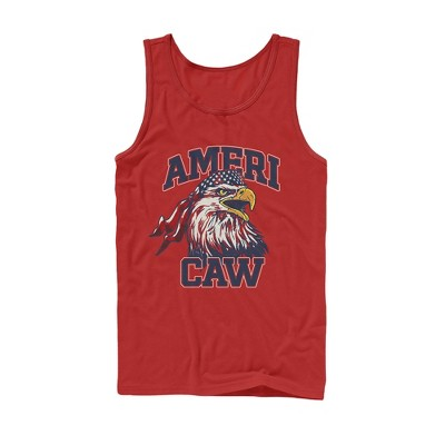 Men's Lost Gods Fourth of July  Americaw Eagle Tank Top