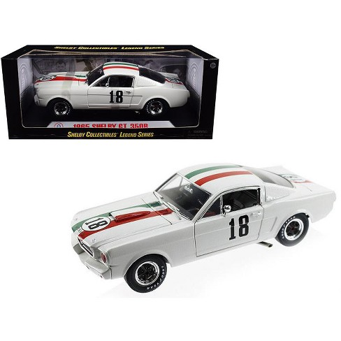 1965 Ford Shelby Mustang GT350R #18 Mexico 1/18 Diecast Car Model by Shelby Collectibles - image 1 of 1