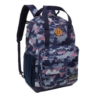 "Outdoor Products  17.9"" Larchmont Grab Backpack - Blue"