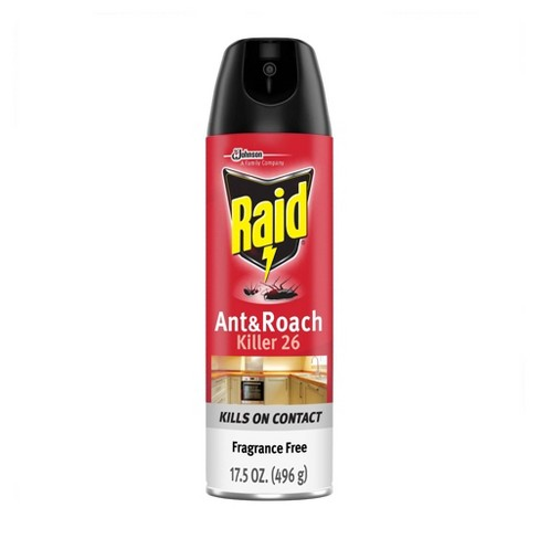 Raid Ant & Roach Killer Fragrance Free - image 1 of 4