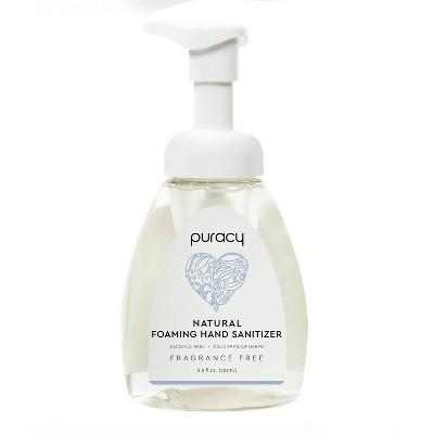 Puracy Foaming Hand Sanitizer Fragance Free - 8.5 fl oz