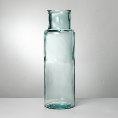 Recycled Glass Décor Cylinder Vase - Hearth & Hand™ with Magnolia