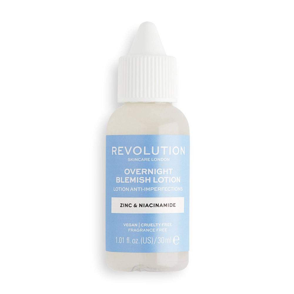Makeup Revolution Skincare Overnight Blemish Lotion Buffering 1 01 Fl Oz