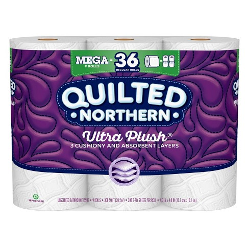 Quilted Northern Ultra Plush Toilet Paper - Mega Rolls - image 1 of 4