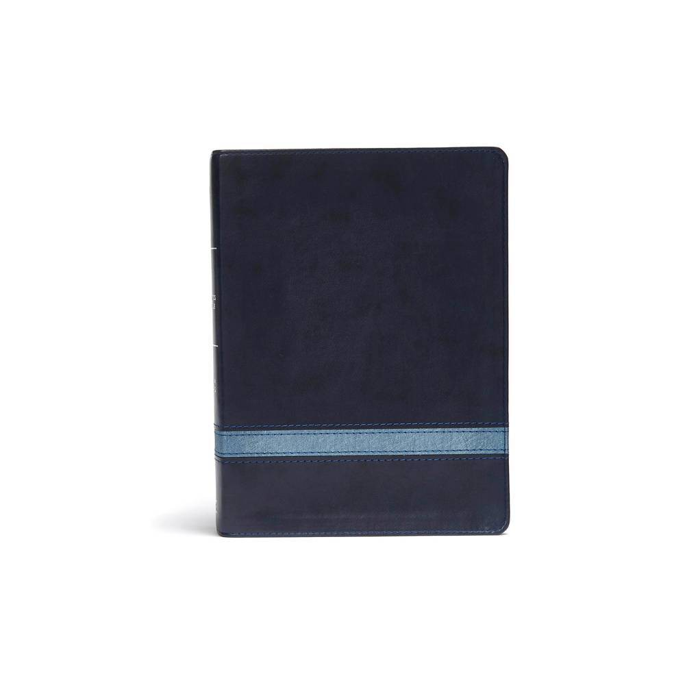 Csb Apologetics Study Bible Navy Leathertouch By Csb Bibles By Holman Leather Bound