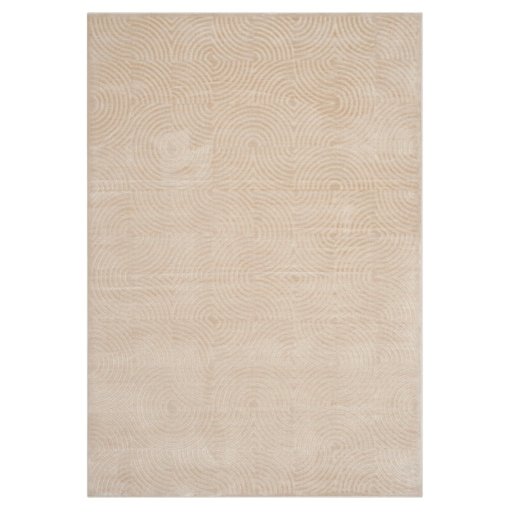 Tucker Area Rug - Stone (8' X 11'2) - Safavieh, White