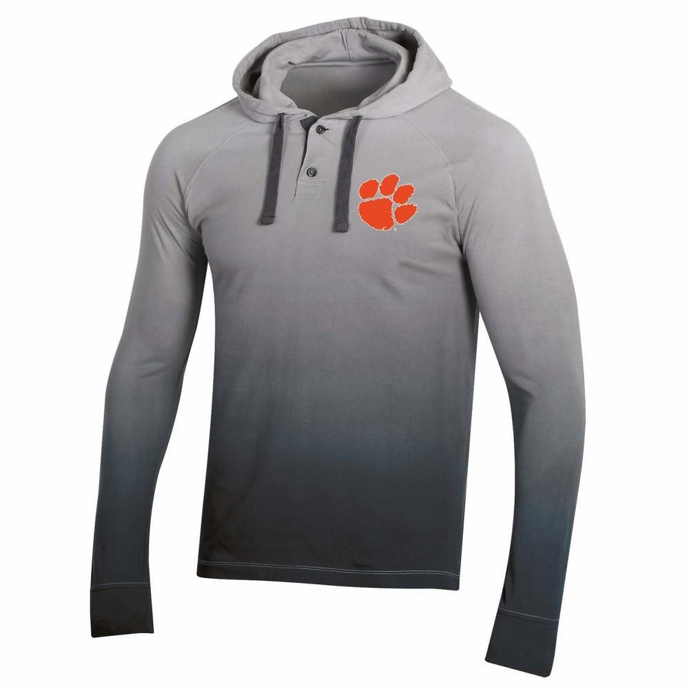 NCAA Men's Long Sleeve Lightweight Hoodie Clemson Tigers - S, Multicolored