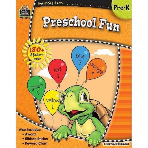 Ready-Set-Learn: Preschool Fun - (Mixed media product) - image 1 of 1