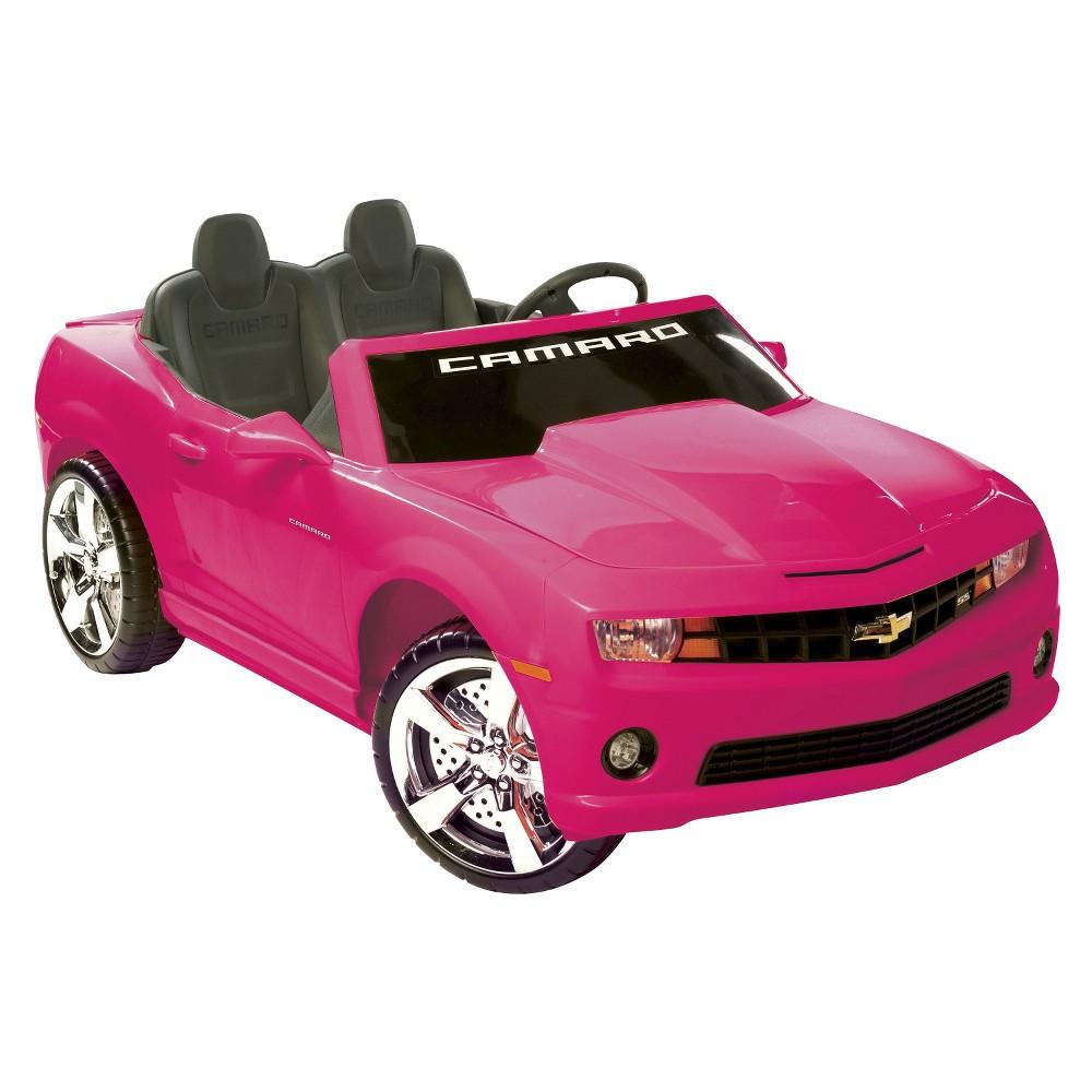 Kid Motorz Chevrolet Camaro 12V Two Seater Ride On - Pink