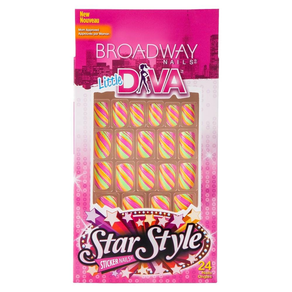 Broadway Nails Little Diva Sticker Nails - Premiere