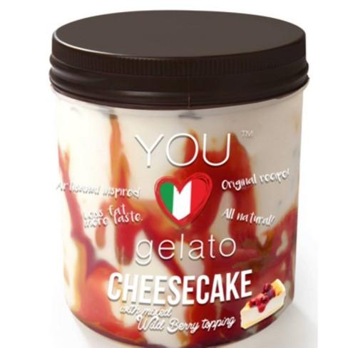 You Love Gelato Cheesecake with Mix Wild Berry Frozen Gelato - 16oz - image 1 of 1