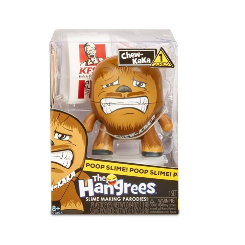 The Hangrees Chew-KaKa Collectible Parody Figure with Slime - image 1 of 4