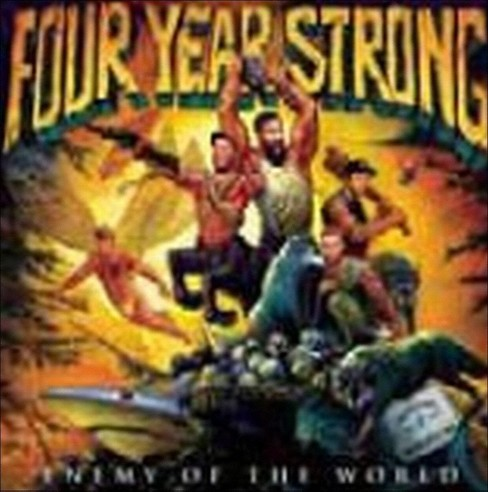 Four Year Strong - Enemy of the World (CD) - image 1 of 3