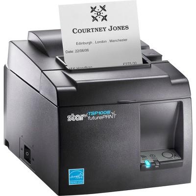 Star Micronics TSP654IIWEBPRNT 24 GRY US Direct Thermal Printer ...