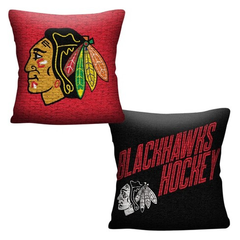 NHL Chicago Blackhawks Inverted Woven Pillow - image 1 of 4