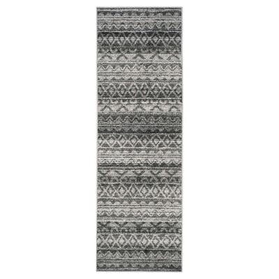 Adirondack Rug - Ivory/Charcoal - (2'6 x8')- Safavieh®