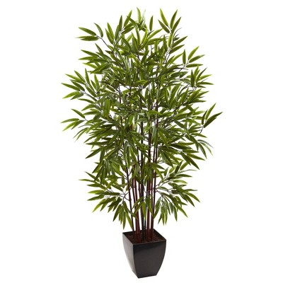 """60"""" Artificial Bamboo Tree in Planter - Nearly Natural"""