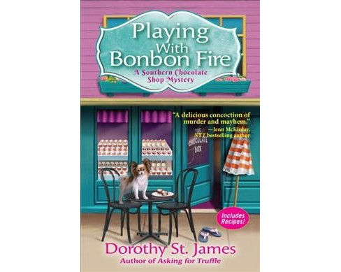 Playing With Bonbon Fire -  by Dorothy St. James (Hardcover) - image 1 of 1