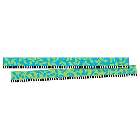 Barker Creek® Bulletin Board Double-Sided Border - Leaves - image 1 of 4