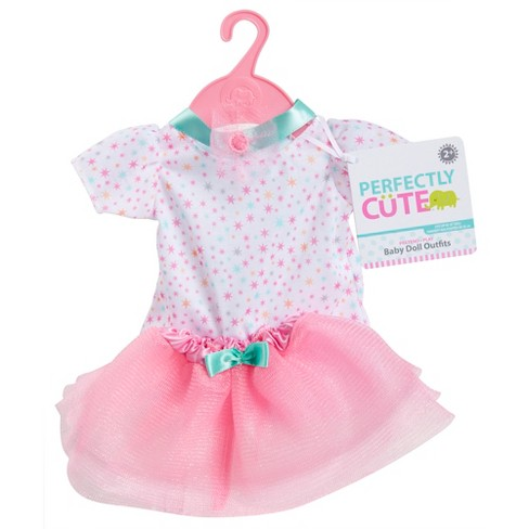 perfectly cute baby doll outfit 3pc star top with shirt and