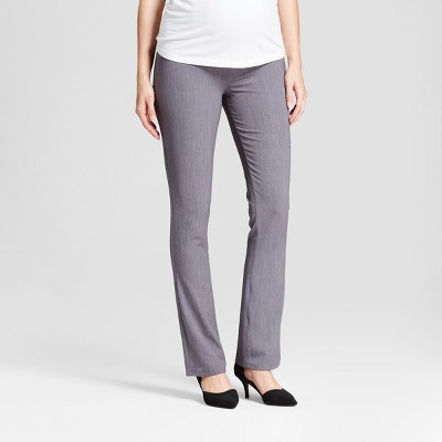 Mid-Rise Crossover Panel Bootcut Maternity Trousers - Isabel Maternity by Ingrid & Isabel™
