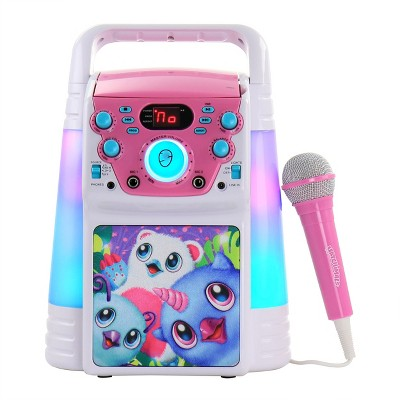 Hatchimals Colorful Flashing Lights Karaoke Machine with Microphone
