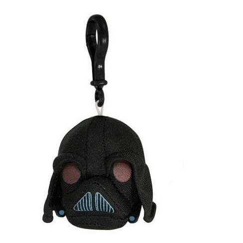 Commonwealth Toys Angry Birds Star Wars Plush Backback Clip On: Darth Vader - image 1 of 1