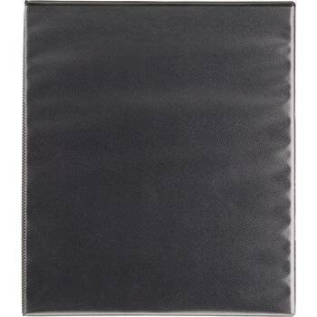 """0.5"""" Ring Binder Clear View Black - up & up™"""