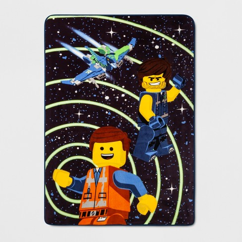 LEGO Movie 2 Twin/Full The Good Guys Blanket - image 1 of 1