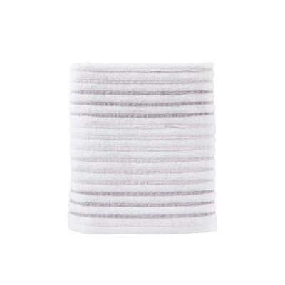 Tie Dye Stripe Bath Towel Gray - Saturday Knight Ltd.