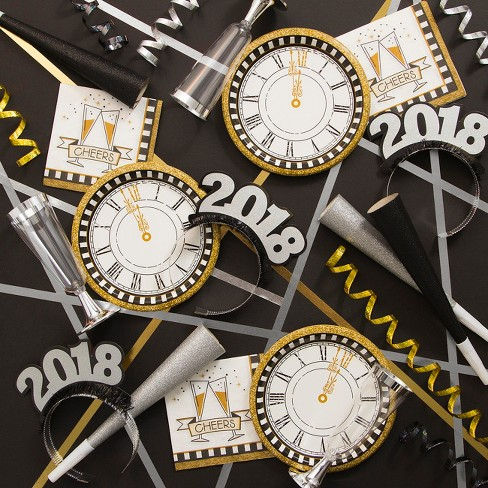 Creative Converting Midnight Celebration New Years Party Supplies Kit - image 1 of 1