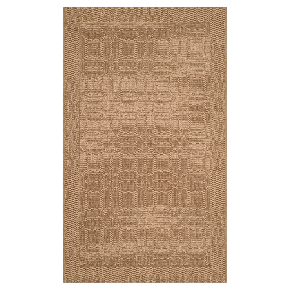 Maize (Yellow) Abstract Tufted Area Rug - (4'X6') - Safavieh