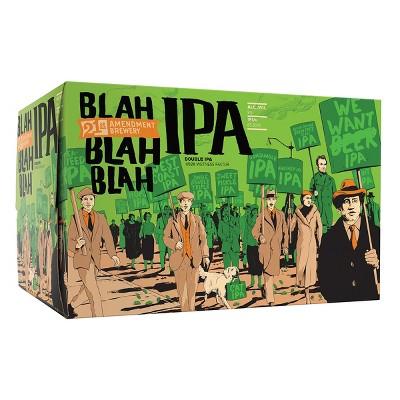 21st Amendment Blah Blah Blah IPA Beer - 6pk/12 fl oz Cans