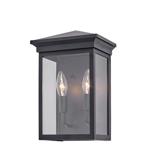 "Artcraft Lighting AC8161 Gable 2 Light 12"" Tall Outdoor Wall Sconce - image 1 of 1"