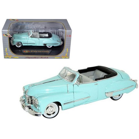 1947 Cadillac Series 62 Light Blue Convertible 1/32 Diecast Car Model by Signature Models - image 1 of 1