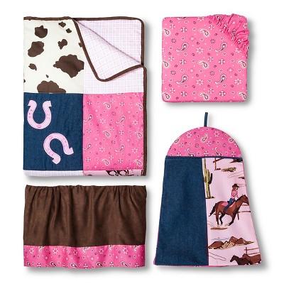 Sweet Jojo Designs 11pc Cowgirl Crib Set