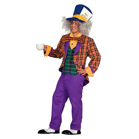 Adult Mens Classic Mad Hatter Costume