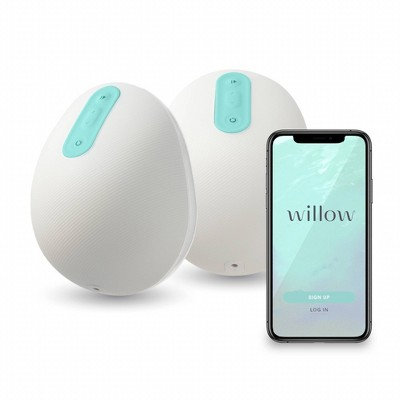 Willow Generation 3 Wearable Double Electric Breast Pump 24mm