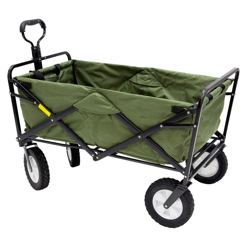 Mac Sports Folding Wagon - Green