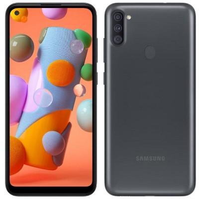 Samsung Galaxy A11 32GB ROM 2GB Ram A115F/DS Dual Sim Triple Cameras GSM International Model GSM Unlocked Smartphone