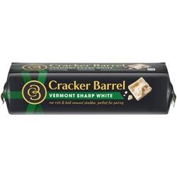 Cracker Barrel Vermont Sharp-White Cheddar Cheese - 8oz