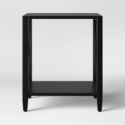 Fairmont Metal End Table Black - Threshold™