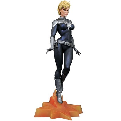 Diamond Select Marvel Gallery Exclusive 10 Inch PVC Statue | SHIELD Captain Marvel
