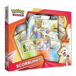 2019 Pokemon Trading Card Game Scorbunny Galar Collection Box, Kids Unisex