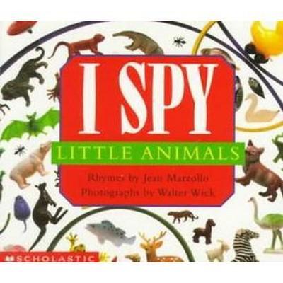 I Spy Little Animals - by Jean Marzollo (Board Book)