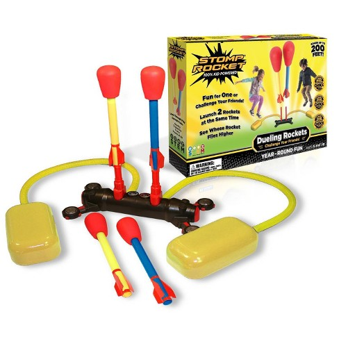 Stomp Rocket Dueling Super High Flying Rockets with Launch Pad - image 1 of 3