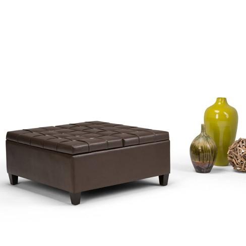 Harrison Coffee Table Storage Ottoman Wyndenhall Target